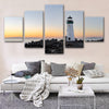 Lone Lighthouse  Canvas Set