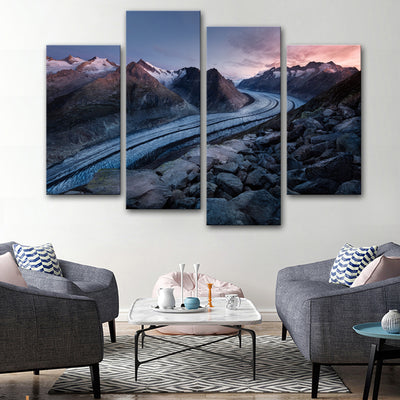 Winter Tracks Canvas Set - Canvasist