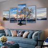 Lake Wanaka New Zealand Canvas Set - Canvasist