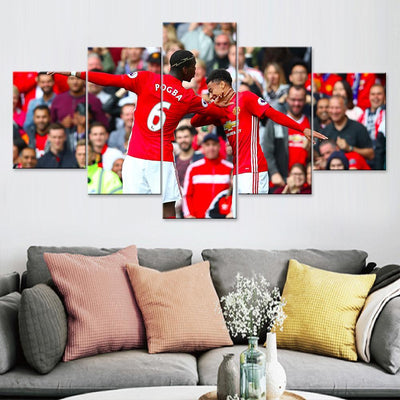 Pogba and Lingard Dabbing Canvas Set
