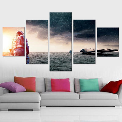 Interstellar Canvas Set