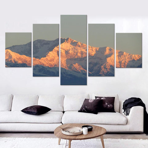 Mount Fuji beautiful Canvas Set