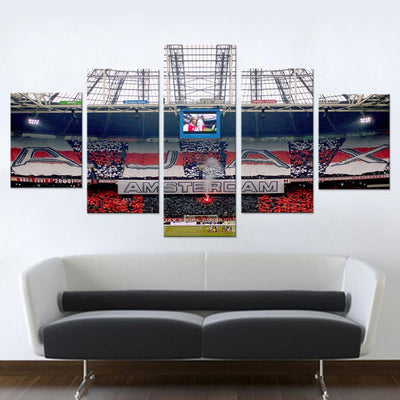 Ajax Amsterdam Ground Canvas Set - Canvasist