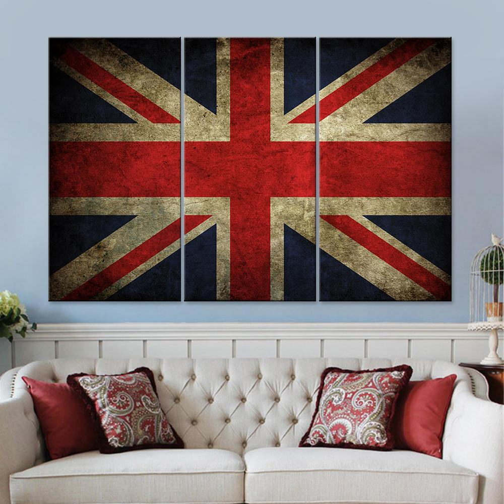 Union Jack Canvas Set