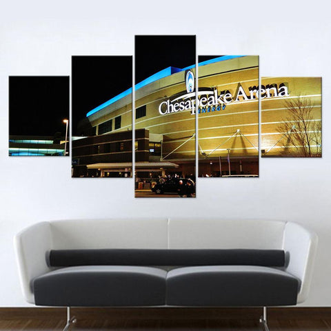 Chesapeake Energy Arena Canvas set