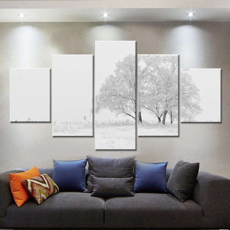 Winter Trees Canvas Set - Canvasist