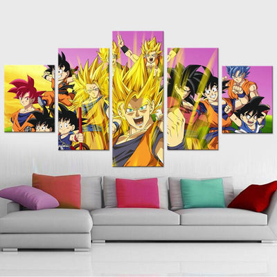 Dragon Ball Z Canvas Set - Canvasist