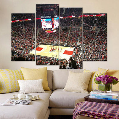 Moda Center Portland Trail Blazers Canvas Set - Canvasist