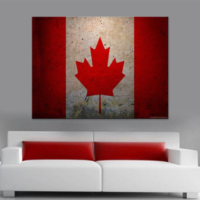 Canadian Flag Canvas Set - Canvasist