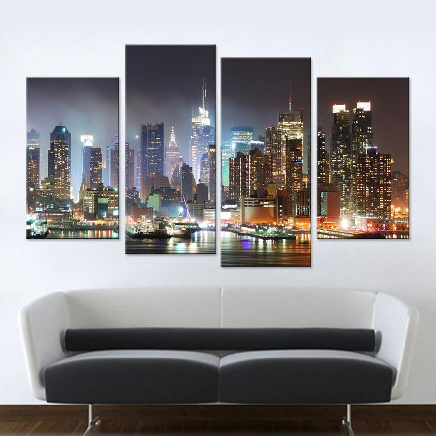 Los Angeles City Canvas Set