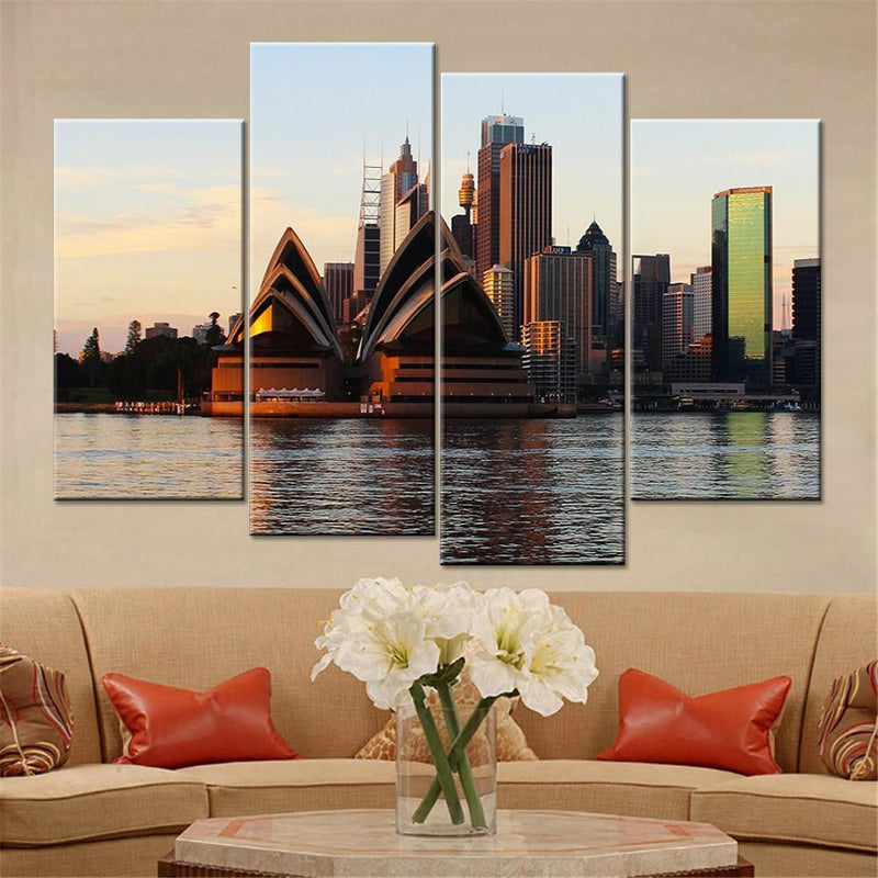 Sydney Harbour View Canvas Set - Canvasist