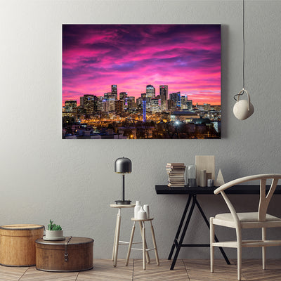 Denver Skyline Canvas Set - Canvasist