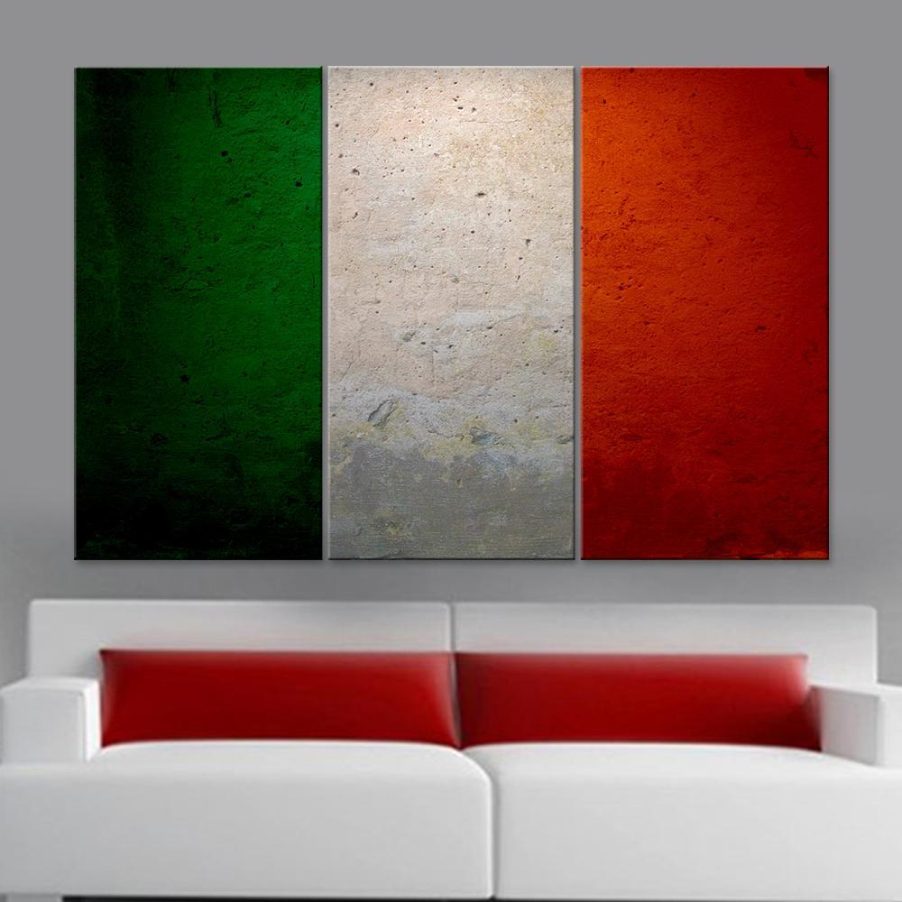 Italy Flag Canvas Set - Canvasist