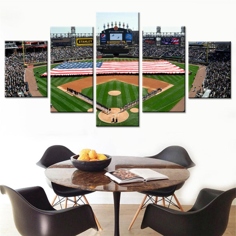 Chicago White Sox Stadium Canvas Set - Canvasist