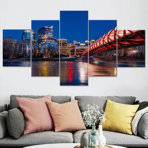 Calgary Canvas Set
