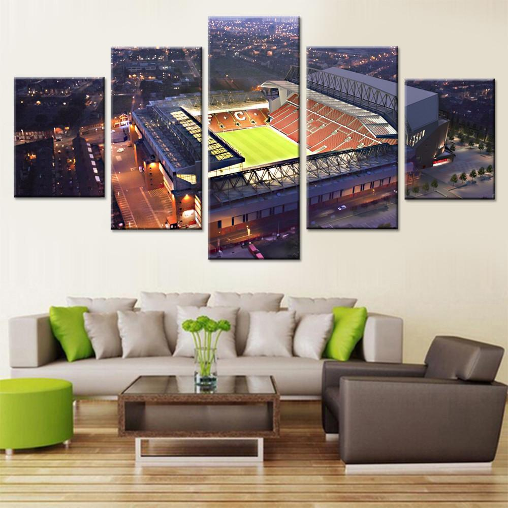 Liverpool Home  Stadium Canvas Set (EPL) - Canvasist
