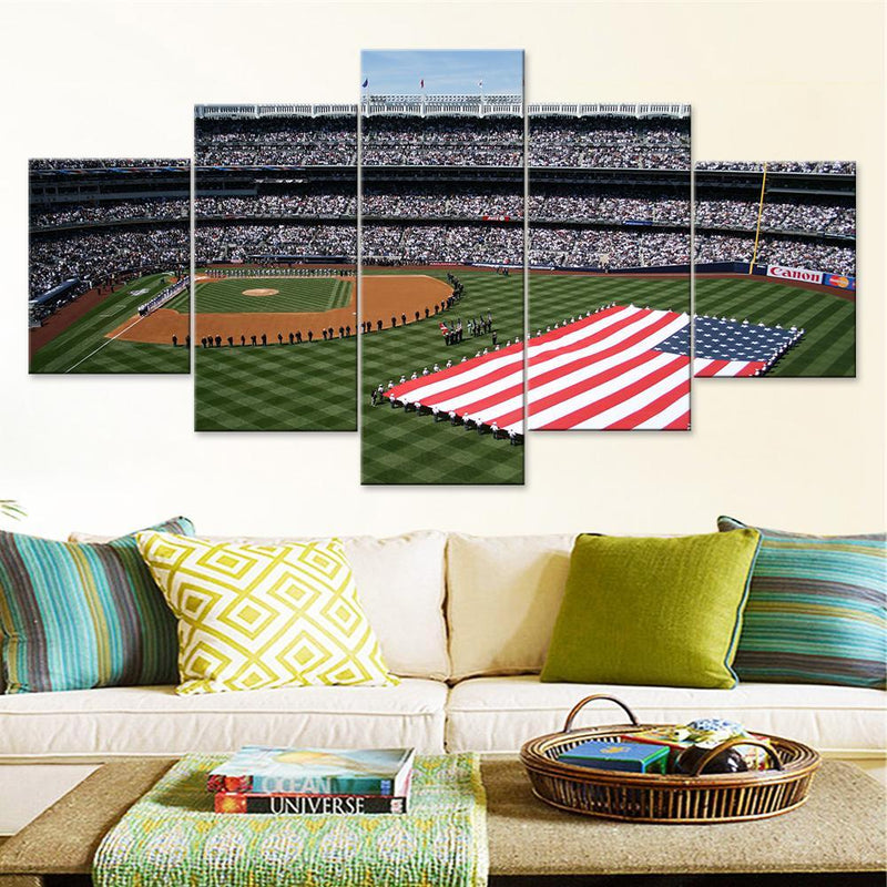 The Yanks Stadium (2) Canvas Set