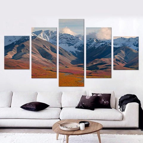 Alaska Summer Canvas Set