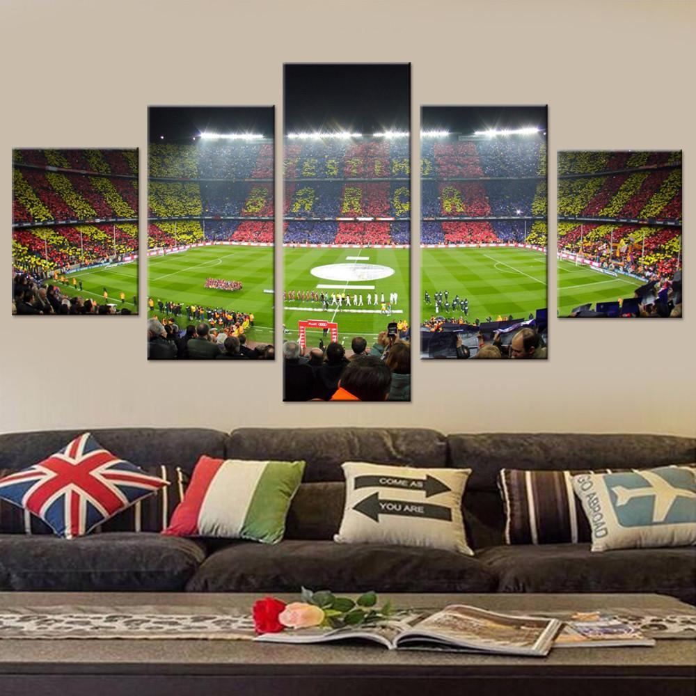 Camp Nou Canvas Set - Canvasist