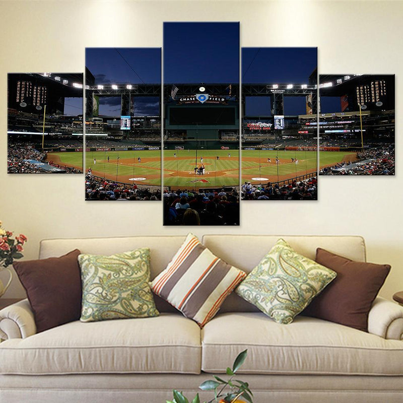 Chase Field Arizona Diamondbacks Canvas Set - Canvasist