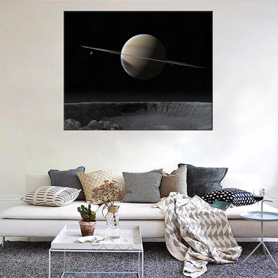 Exoplanet LED Canvas Set - Canvasist