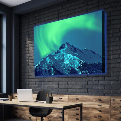 Aurora Borealis LED Canvas Set - Canvasist