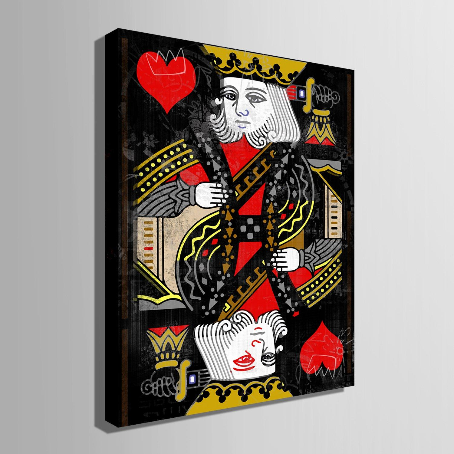 King Of Hearts - Canvasist
