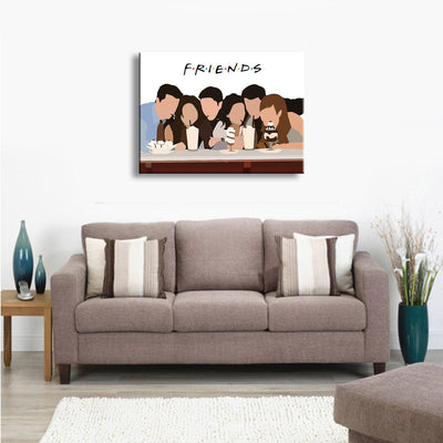 I'll be there for you Art - Canvasist