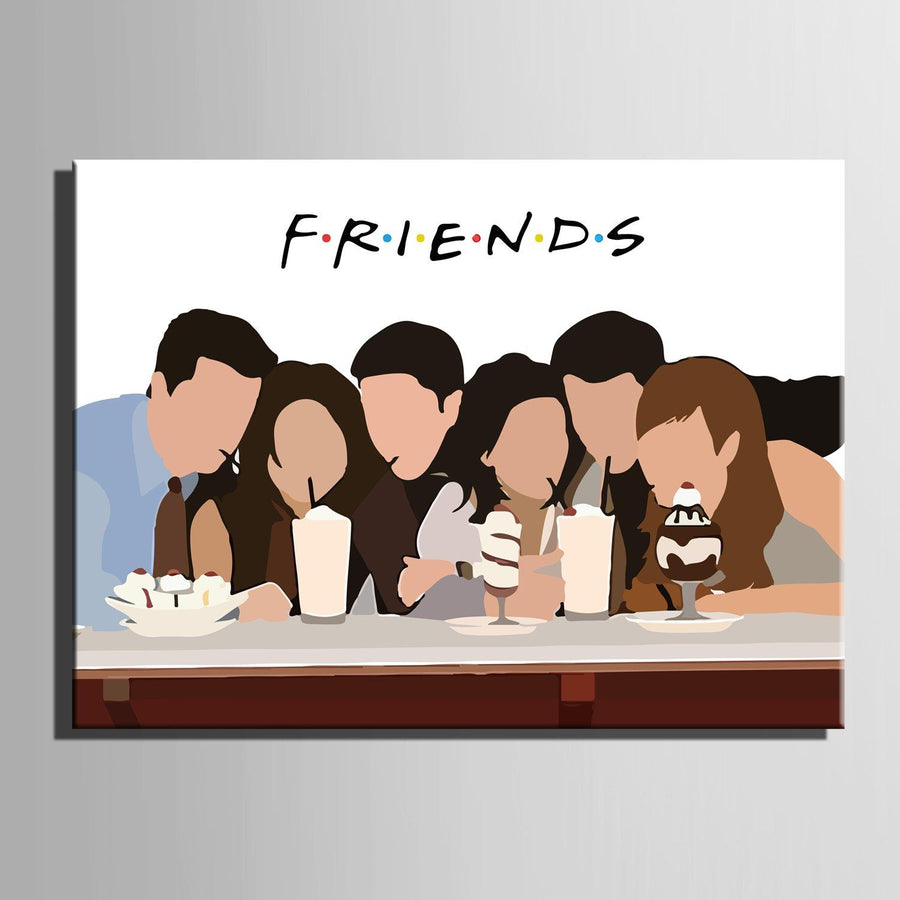 F.R.I.E.N.D.S Art - Canvasist