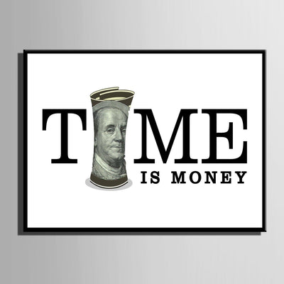 Time Is Money - Canvasist