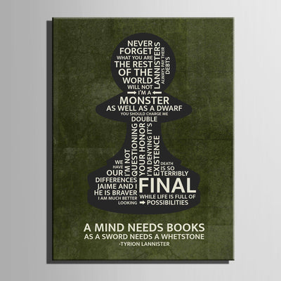 Tyrion Pawn Quotes Canvas Set - Canvasist