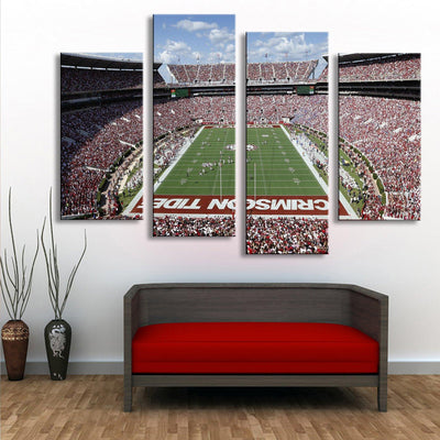 Bryant Denny Stadium Canvas Set - Canvasist