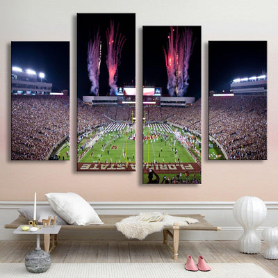 Doak Campbell Stadium Canvas Set - Canvasist