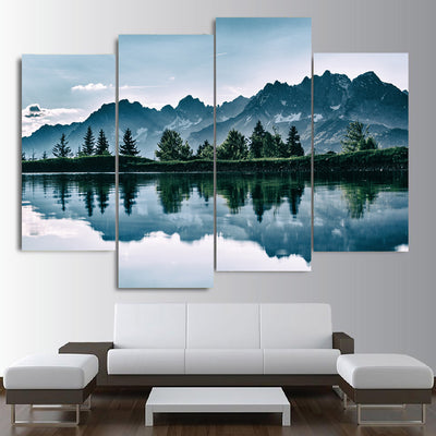 Breathtaking reflections Canvas Set - Canvasist
