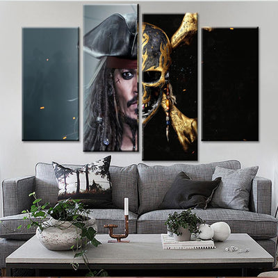 Pirates of the Caribbean: Dead Men Tell No Tales Canvas Set