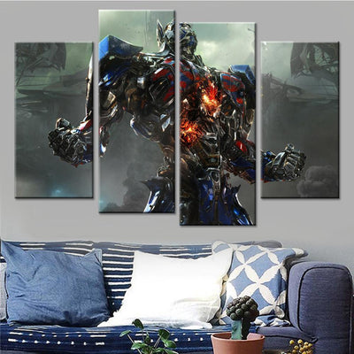 Optimus Prime Canvas Set