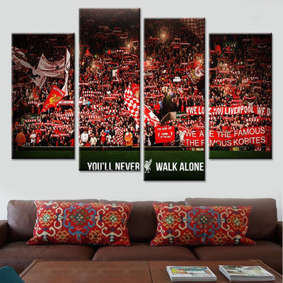 Liverpool Fans Kop End Canvas Set - Canvasist