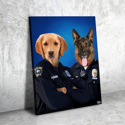 Law Keepers Pet Canvas - Canvasist