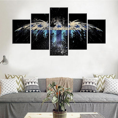 USA Eagle Flag Canvas Set - Canvasist