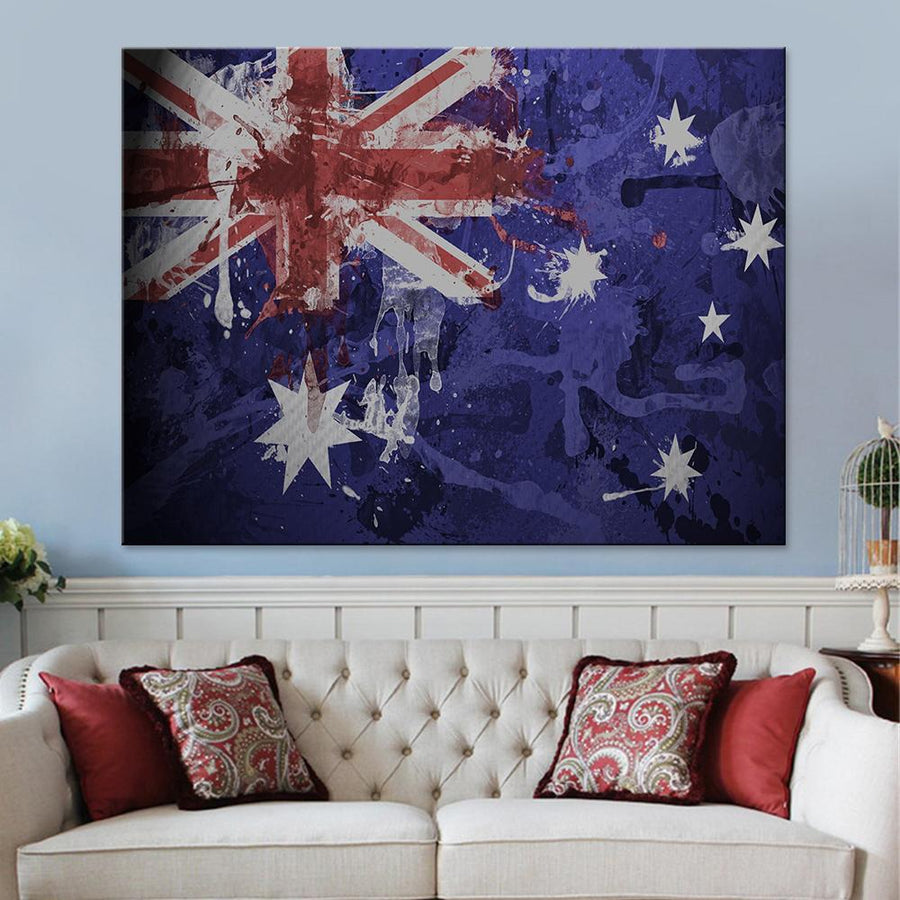 Australian Flag Canvas Set - Canvasist