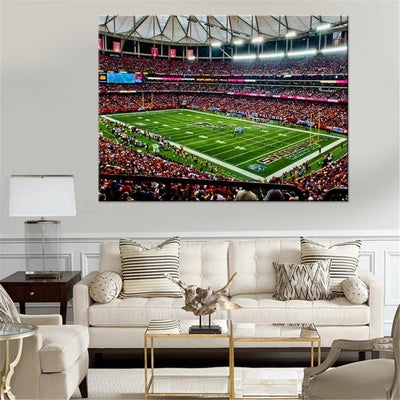 Atlanta Falcons Home Stadium Canvas Set - Canvasist