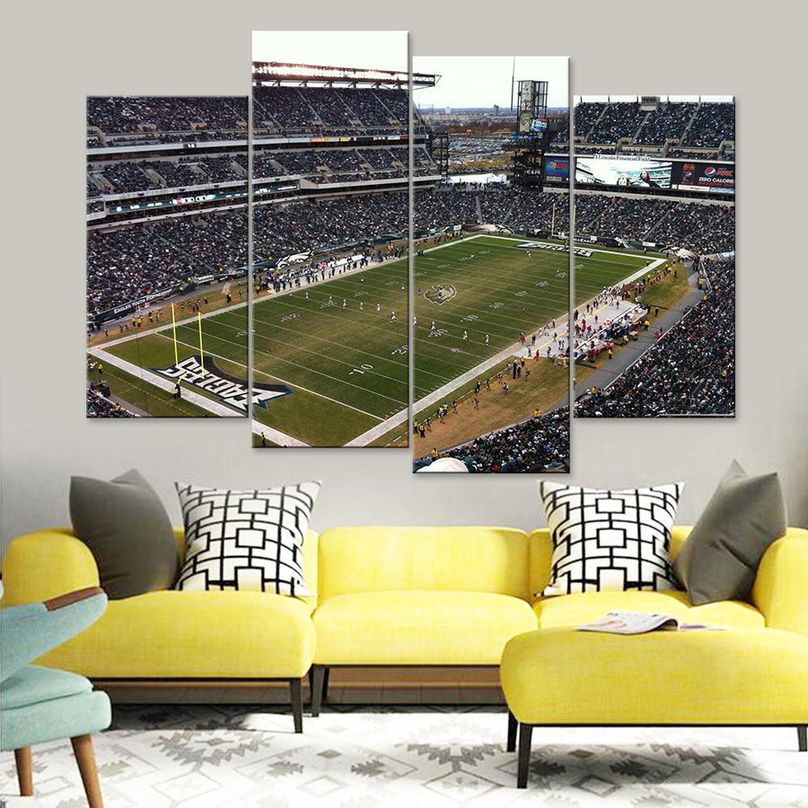 Lincoln Financial Field Canvas Set