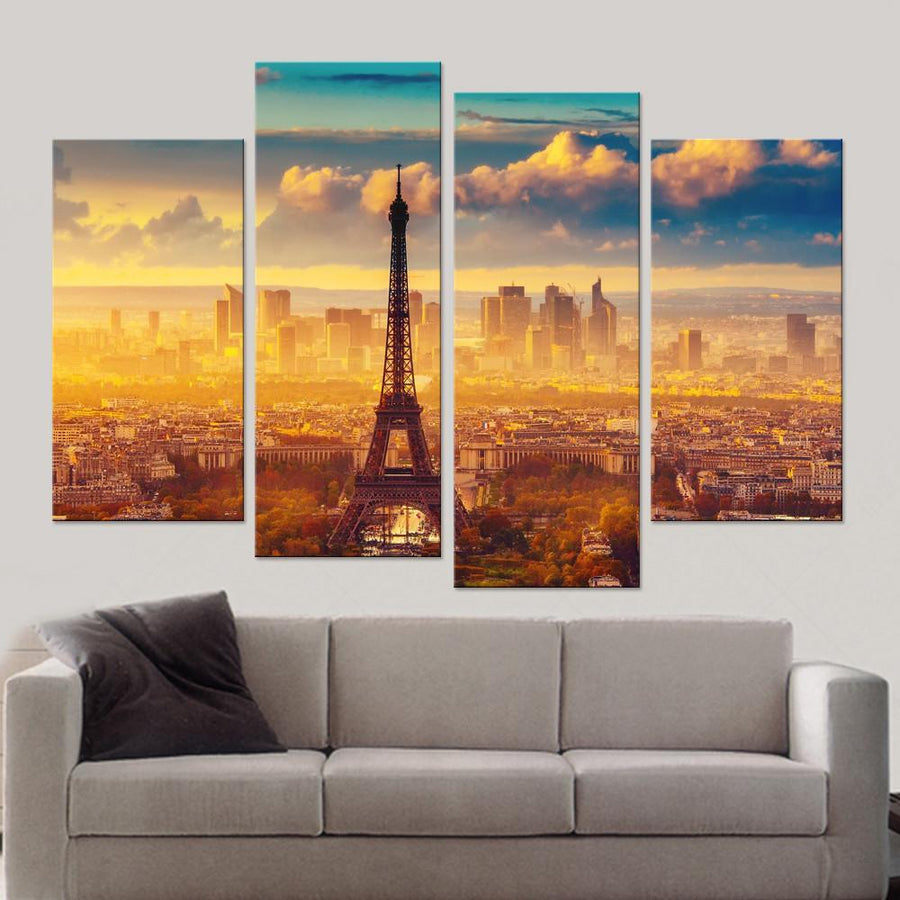 Paris Canvas Set