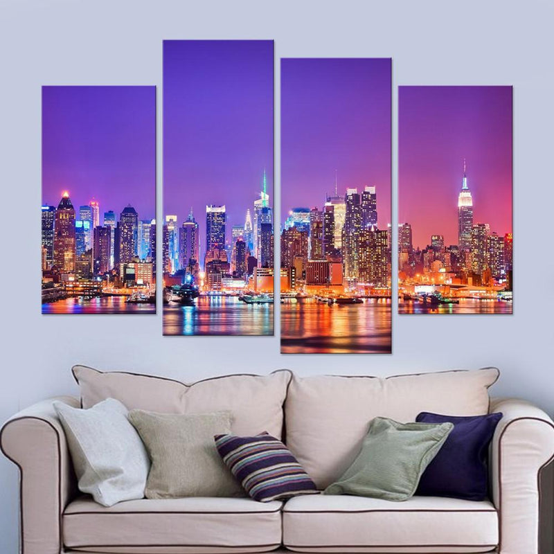 New York City View Canvas Set - Canvasist