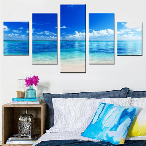 Beach Canvas Set