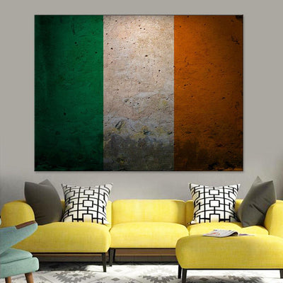 Ireland Flag Canvas Set - Canvasist