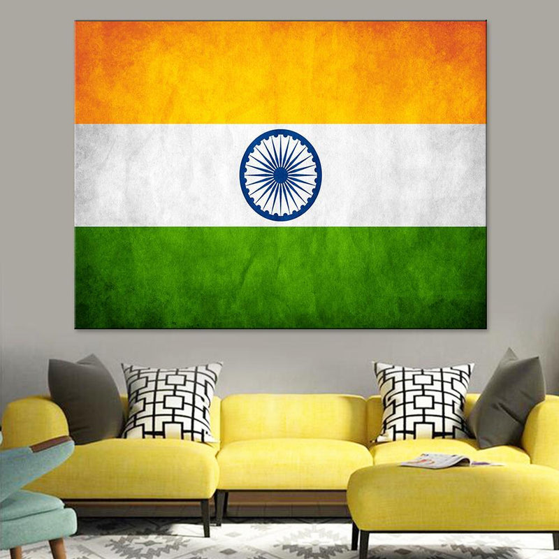 Indian Flag Canvas Set - Canvasist