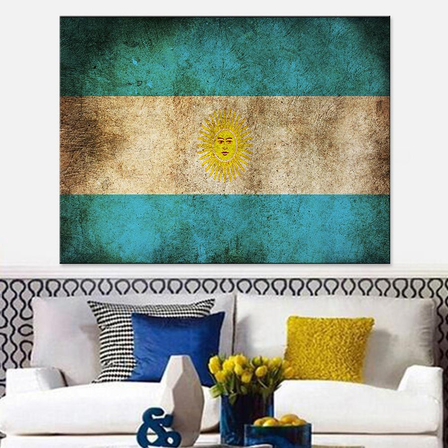 Argentina Flag Canvas Set - Canvasist