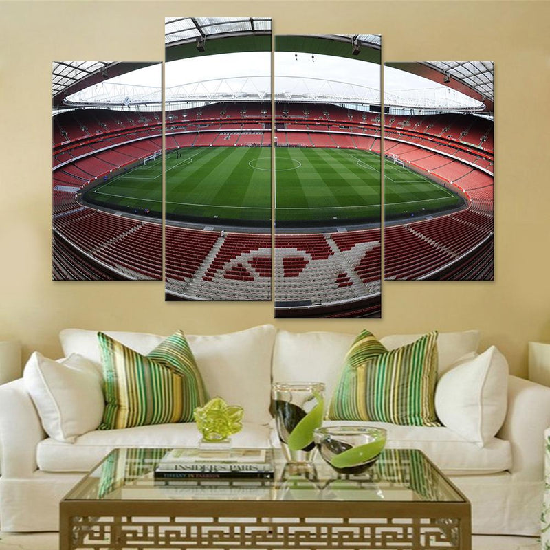 Arsenal Stadium Canvas Set - Canvasist
