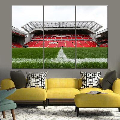 Liverpool Anfield Stadium Canvas Set - Canvasist
